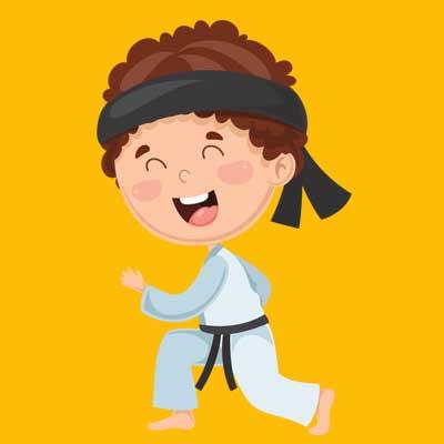 karate kid graphis